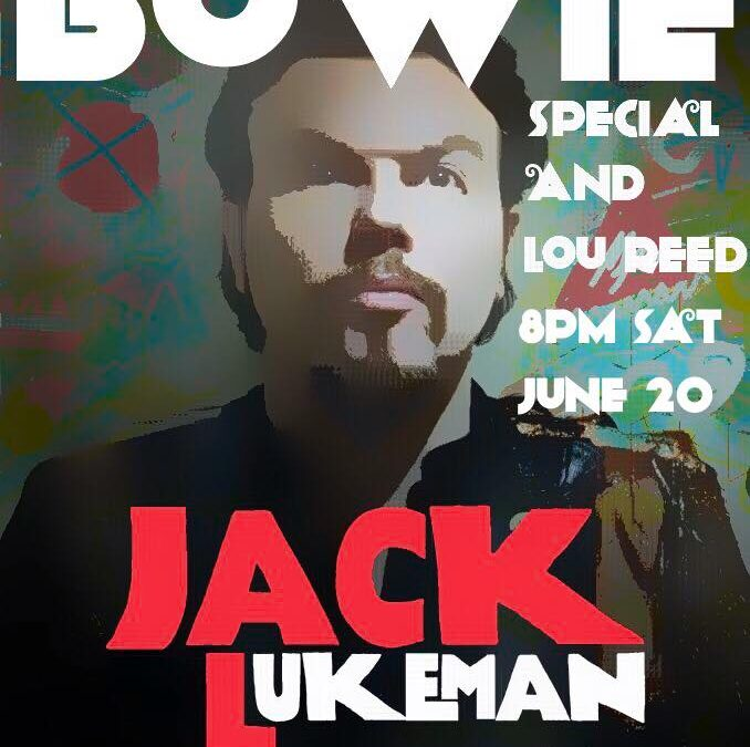 Jack Lukeman Live This Evening On Facebook