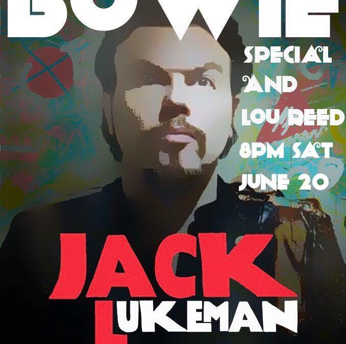 Jack Lukeman Live This Evening On Facebook